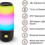 JBLS Pulse 3 Wireless Portable Speaker with Vibrant Lightshow (First Copy)